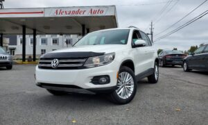 Used Volkswagen Tiguan For sale at Alexander Auto in Cornwall, ON